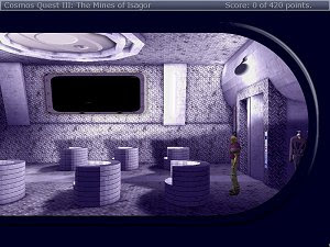 Cosmos Quest 3: The Mines of Isagor free adventure game