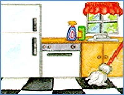 Casa perfecta calendario de limpieza para la cocina - Limpieza azulejos cocina ...