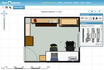 Floorplanner dise o de planos online al alcance de todos for Diseno de planos online