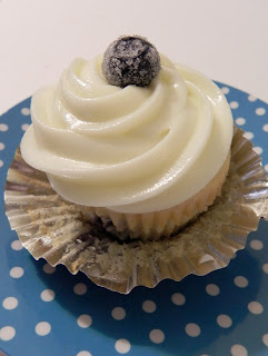 ... Blueberry Cupcakes with Lemon Cream Cheese Frosting - Cupcake