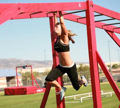 outdoor training, monkey bar workout