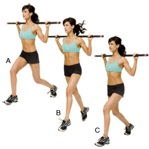body bar exercises by toronto personal trainer