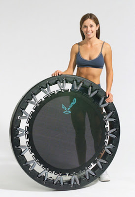 mini trampoline review by toronto personal trainer kaleena lawless