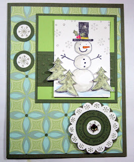 airbornewife christmas rubber stamping snowmen snowman penguin embossing