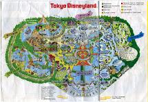 California Disneyland Map 1990
