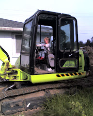 Marina: excavator-operator-in-training