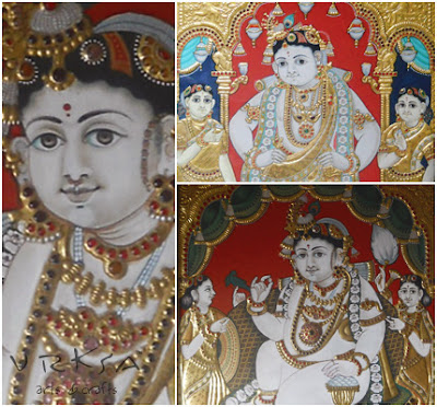Vrksa Arts Amp Crafts Thanjavur Oviyam Tanjore Painting