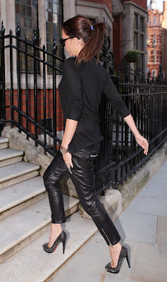 Victoria Beckham Leggy Candids