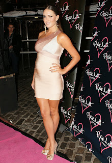 Danielle Lloyd at the Pixie Lott Lipsy Party