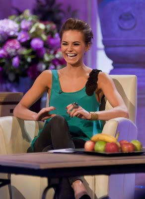Kara Tointon In Tight Leggings