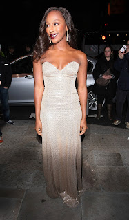 Alexandra Burke at the Cosmo Awards