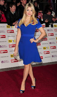Holly Willoughby at the Pride of Britain Awards