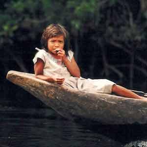 Resultado de imagen para niña indigena chimila