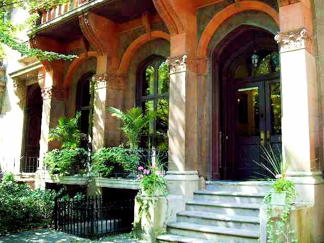 historical home  gothic colonial troy townhouse