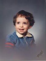 Benjamin Rubenstein as a toddler