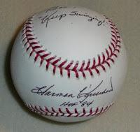Harmon Killebrew autographed baseball