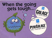 PeriColace drug advertisement