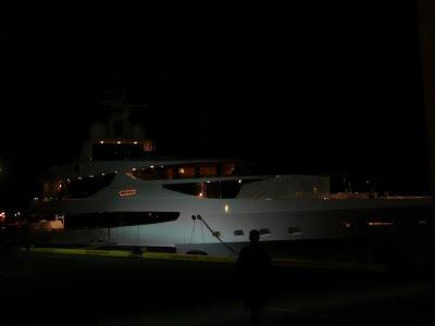 Yacht near Waikiki