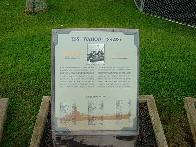 USS Wahoo plaque in Hawaii