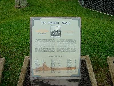 USS Wahoo plaque in Hawaii