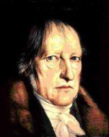 Geord Wilhelm Friedrich Hegel (1770-1831)