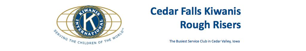 Cedar Falls Kiwanis Rough Risers