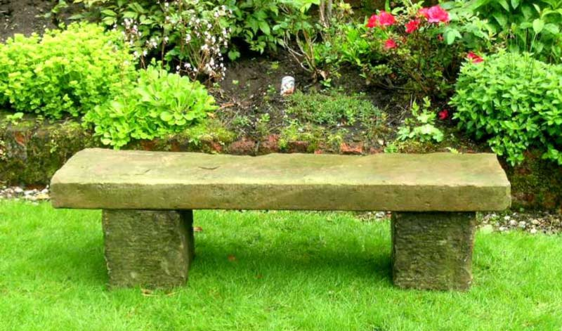 Serenity in the Garden: Stone Seats and Benches in the Garden