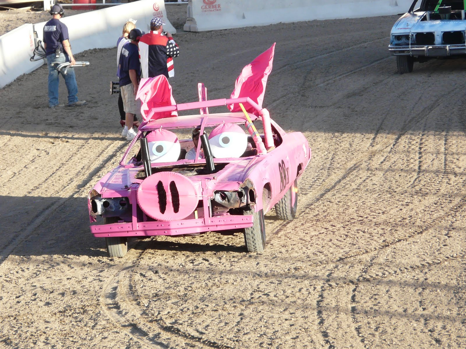 Demolition Derby Cars Paint Job