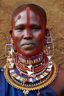 Afrika massai schmuck