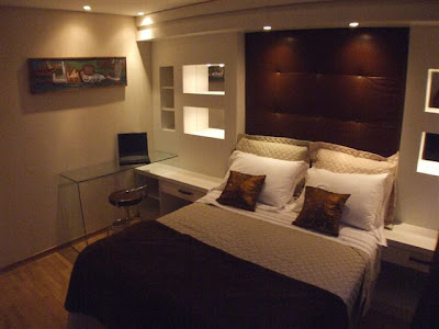 quarto de apartamento decorado