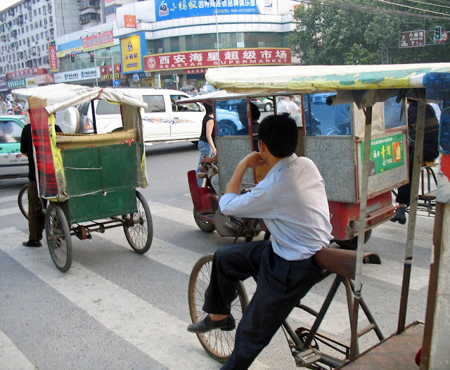 cycle rickshaw driver