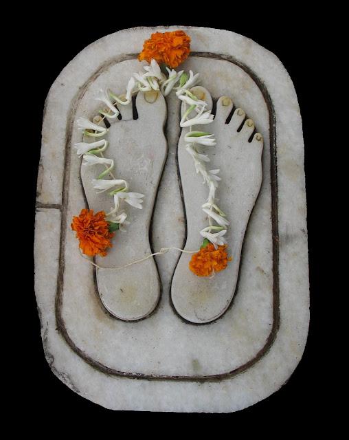 paduka or guru's feet