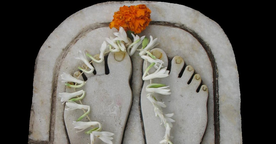Stock Pictures Paduka Or Guru S Feet