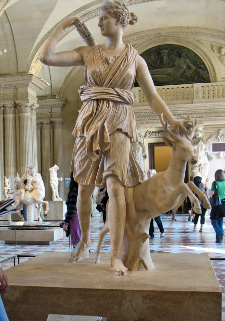 Diana at Louvre Paris