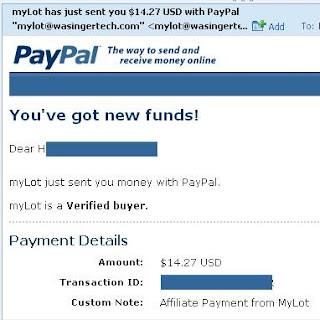 Mylot Proof of Payment