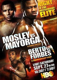 Watch Berto Vs Forbes Live Streaming Online