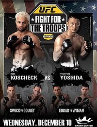 Watch UFC Fight For The Troops