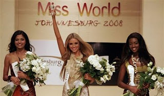 2008 Miss World Winners