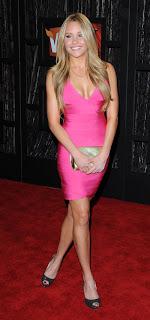 Amanda Bynes Pink Dress