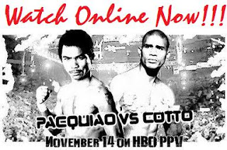Pacquiao vs Hatton on Sopcast
