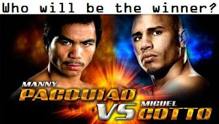 Pacquiao vs Cotto Winner