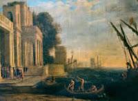 Llegada de Ulises a la corte de Licomedes - Museo Hermitage, San Petersburgo