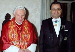 Embajador colombiano ante el Vaticano, junto al Santo Padre