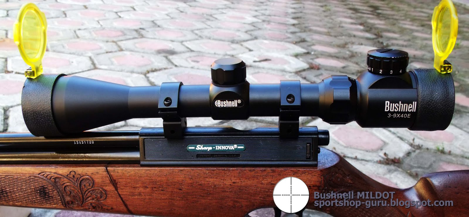 Senapan Angin Airrifle Gun Hunting Hunter Riflescope Field Target