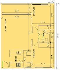 Planta 2 dormitorios