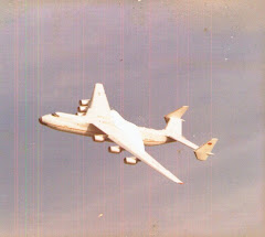 AN225 in the Farnborough overhead