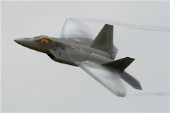F22 Raptor at Farnborough 2008