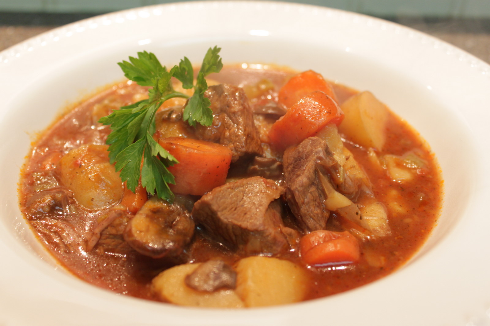 Wholesome Dinner Tonight: Slow Cooker Beef Stew {Gluten Free}