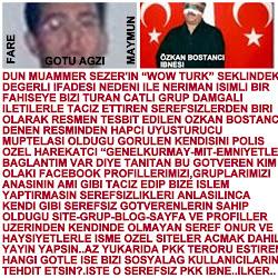 OZKAN BOSTANCI DENEN PKK YOSMASI SEREFSIZ GOTVEREN!