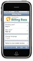 Billing Boss iPhone version